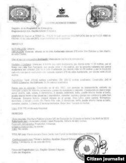 Documentos probatorios presentados por Yiorvis Bravo Denis.