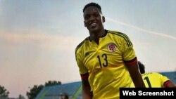 El futbolista colombiano Yerry Mina.