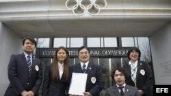 Delegación nipona entrega informe sobre Tokio al Comité Olímpico Internacional