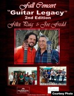 """""""Guitar Legacy"""", concierto de los guitarristas José Alfredo Fernández y Félix Puig."""