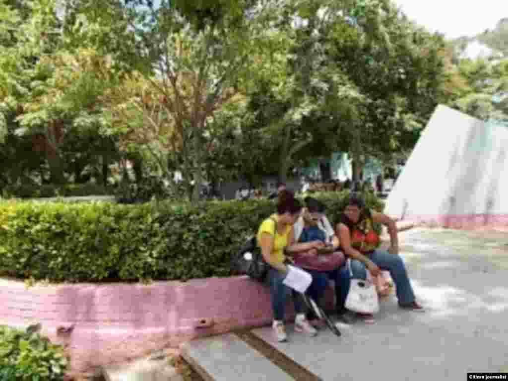 Reporta Cuba Parque Roberto Amarán Foto José Estrada