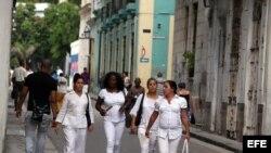 Nuncio Apostólico recibe a Damas de Blanco