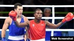 Julio César La Cruz ganó oro olímpico en los 81 kg.
