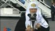 El Patriarca Kiril a su arribo a La Habana.