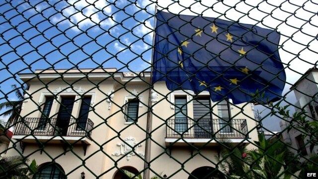 Sede de la Unión Europea en Miramar, La Habana.