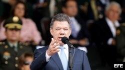 El presidente de Colombia, Juan Manuel Santos. Foto de archivo