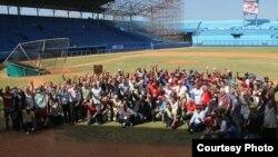 Reunión del comité seleccionador de los integrantes del Salón de la Fama en Cuba.