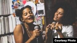 El dúo Ibeyi en una imagen promocional de su web.