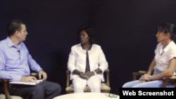 Damas de Blanco entrevistadas por Estado de Sats.