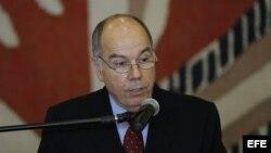 Mauro Viera, el nuevo canciller del segundo mandato de la presidente brasileña, Dilma Rousseff, en foto de archivo.