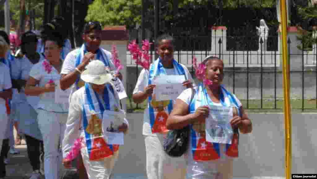 Reporta Cuba. Marchas dominicales.
