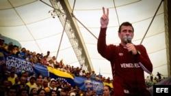 Capriles en campaña