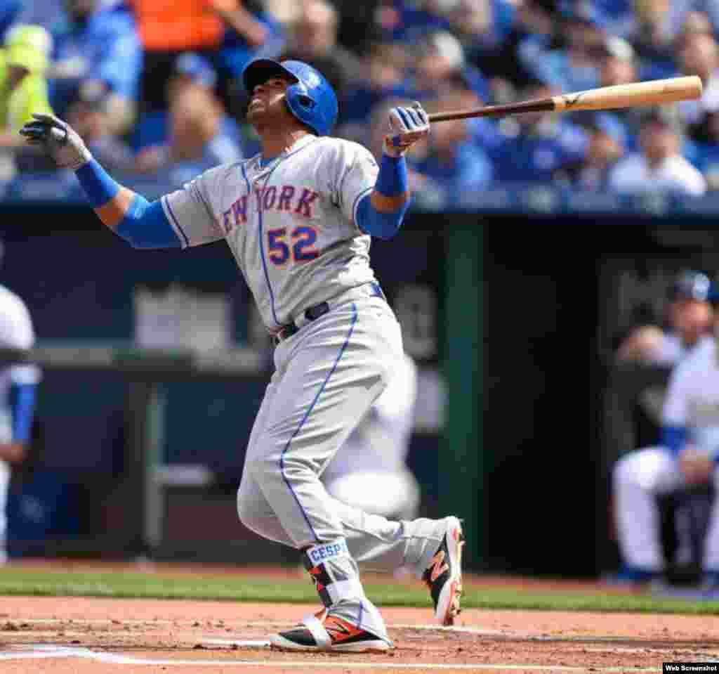 El jardinero central de los Mets de Nueva York, Yoenis Céspedes (Granma, 1985), ha bateado para .300 en los últimos siete juegos (9 imparables en 30 turnos), con 5 carreras impulsadas, 4 anotadas y 3 cuadrangulares. Su promedio ofensivo en la temporada 2016 es de .291 (104 hits en 357 turnos), con 25 jonrones.