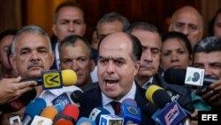 El presidente de la Asamblea Nacional, el diputado Julio Borges. (Archivo)