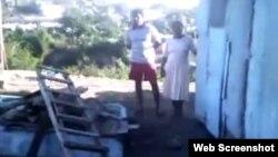 Un desalojo en la región oriental de Cuba. Foto Archivo