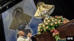 En celebración a la Virgen de la Caridad del Cobre oraron por Cuba
