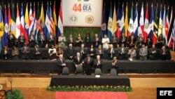 Asamblea de la OEA. Archivo.