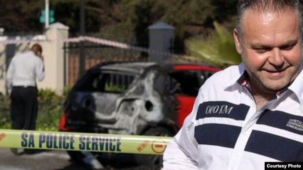 El mafioso de origen checo Radovan Krejcir, condenado a 35 años en Sudáfrica.