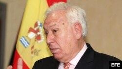 Canciller español José Manuel García-Margallo