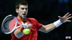 El tenista serbio Novak Djokovic.