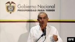 El jefe del equipo negociador del Gobierno colombiano, Humberto de la Calle.