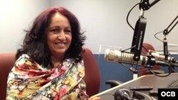 Miriam Celaya en Radio Martí