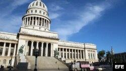 Capitolio de La Habana, sede del Ministerio de Ciencia.