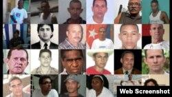 Presos políticos cubanos