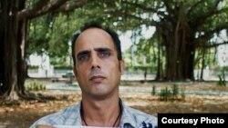 Zaqueo Báez, preso político. Foto cortesía de Claudio Fuentes.