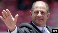 Presidente de Costa Rica, Luis Guillermo Solis. Foto Archivo. EFE