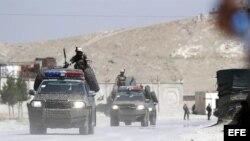 Base Bagram, en Afganistán.