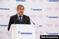 Pedro Padierna, presidente de Pepsico México.