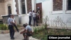 Reporta Cuba. Arrestos. Foto: Archivo de Vladimir Turró.