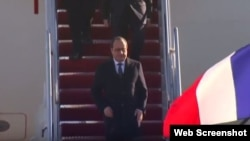 François Hollande arribó a Washington, para reunirse con Barack Obama.