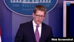 El portavoz Jay Carney dijo en la Casa Blanca que Zunzuneo no fue un proyecto secreto, aunque se aplicó de manera discreta en el restrictivo ambiente cubano