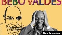Cartel promocional del homenaje a Bebo Valdés en el Museo Nacional del Jazz.