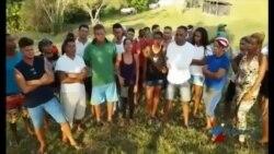 Migrantes cubanos denuncian violaciones de DDHH en campamento del Darién