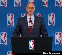 Conferencia de prensa del consejo de gobernadores de la NBA.