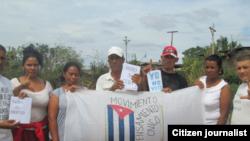 Reporta Cuba. Opositores en Holguín.