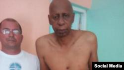 Guillermo Fariñas con graves problemas de salud durante su huelga de hambre