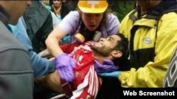 Diego Arellano, manifestante opositor que murió en el Estado Miranda, Venezuela.