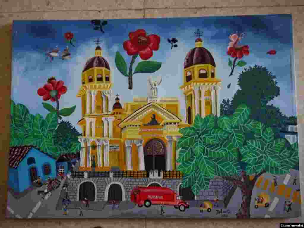 Reporta Cuba arte naif Yoandrys Bolaño