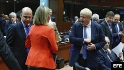 Reunión de Exteriores de la UE