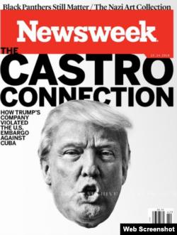 Portada de la revista Newsweek.