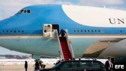 Archivo - Avión presidencial Air Force One