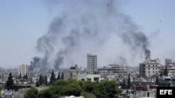 Siria - El ejército sigue bombardeando zonas residenciales en Homs.