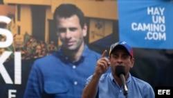 Capriles. Foto de Archivo.