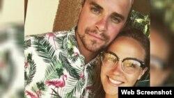 Tristan Lévesque-Lizotte y su pareja varados por más de 70 horas en el aeropuerto de Camagüey. (Foto: Radio-Canada)