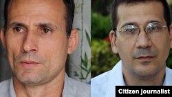Combo fotográfico de José Daniel Ferrer (izq.) y Antonio Rodiles, dos de los líderes opositores con más impacto en Cuba.