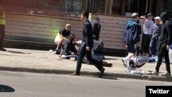 Personas atropelladas por una camioneta en una calle de Toronto.